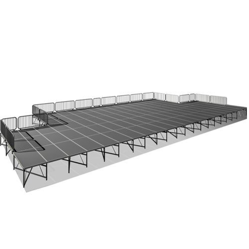 40' x 60' x 4-7' Portable Stage Kit